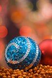 barwiona Boże Narodzenie dekoracja Fotografia Royalty Free