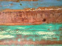 Barwiona drewniana tekstura Fotografia Royalty Free