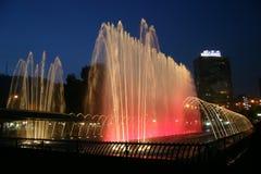 barwiona fontanna zdjęcia stock
