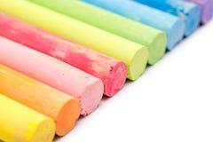 Barwiona kreda zdjęcie stock