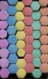 Barwiona kreda obrazy stock