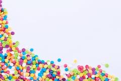 Barwiona kropki rama Fotografia Stock