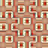 Barwiona linii i wielobok?w t?a jaskrawa geometryczna ilustracja ilustracji