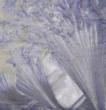 barwiona lodowa tekstura Zdjęcia Royalty Free