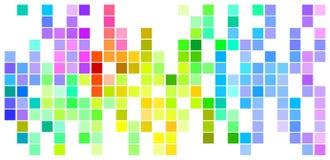 Barwiona mozaika Zdjęcia Royalty Free