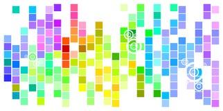 Barwiona mozaika Zdjęcie Royalty Free