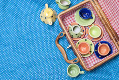 Barwiona porcelana Obrazy Royalty Free