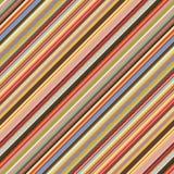 Barwiona przekątna paskuje bezszwowego wzór Obraz Royalty Free