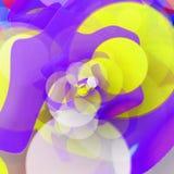 barwiona rzeka Fotografia Stock
