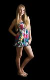 barwiona smokingowa dziewczyna Fotografia Stock