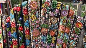 barwiona talia wystawiający ogrodzenie Obraz Stock