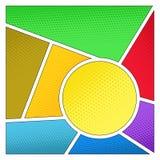 Barwiona tekstura lub tło Obrazy Stock