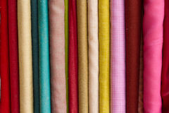 barwiona tkaniny Obrazy Royalty Free