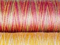 Barwiona włókno tekstura. Cewy Obrazy Royalty Free