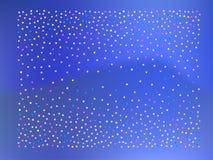 Barwione confetti piłki, gwiazda ilustracja wektor