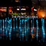 Barwione fontanny Obrazy Royalty Free