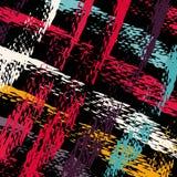 Barwione graffiti plamy na czarnej tła grunge teksturze ilustracja wektor