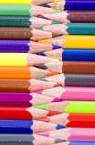 barwione kredki Zdjęcie Stock