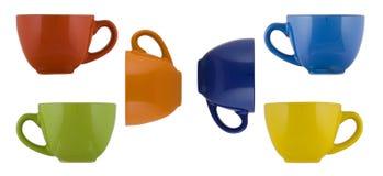 barwione kubki Obrazy Stock