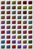 barwione płytki Zdjęcie Royalty Free