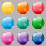 Barwione piłki Zdjęcia Royalty Free