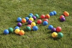 Barwione piłki Zdjęcie Royalty Free