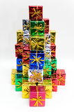 barwione prezent Obrazy Royalty Free