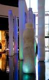 Barwione rzeźby przy Las Vegas kurortem Zdjęcia Royalty Free