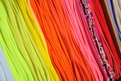 Barwione skarpety rynek 1 Zdjęcia Royalty Free