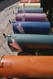 Barwione Skrzynka pocztowa Fotografia Royalty Free