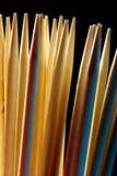barwione wykałaczki Obrazy Stock