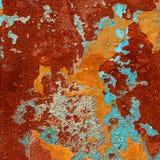 Barwionego grunge tła abstrakcjonistyczna tekstura Zdjęcia Royalty Free