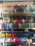 Barwioni atłasowi faborki Zdjęcie Stock