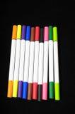 Barwioni atramentów markiery Obrazy Royalty Free