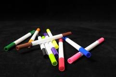Barwioni atramentów markiery Obrazy Stock