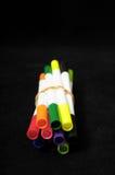 Barwioni atramentów markiery Fotografia Stock