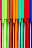 Barwioni atramentów pióra Zdjęcia Stock