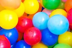 Barwioni balony Zdjęcia Stock