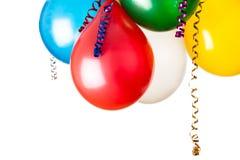 Barwioni balony obrazy royalty free