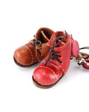 barwioni buty Obrazy Royalty Free