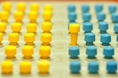 barwioni czopy Zdjęcie Stock