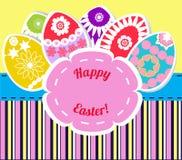 Barwioni Easter jajka ilustracyjni Ilustracji