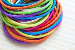 Barwioni gumowi zespoły Zdjęcie Stock