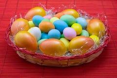 barwioni jajka Zdjęcie Stock