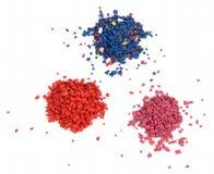 Barwioni kamienie Obrazy Stock