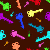 Barwioni klucze Zdjęcia Stock
