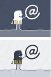 barwioni kreskówka internety ilustracja wektor