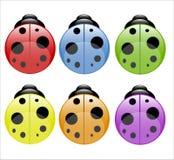 barwioni ladybirds ilustracji