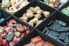 Barwioni leczniczy kryształy Obraz Stock
