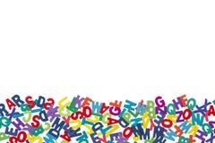 Barwioni listy w odosobnionym widoku zdjęcia royalty free